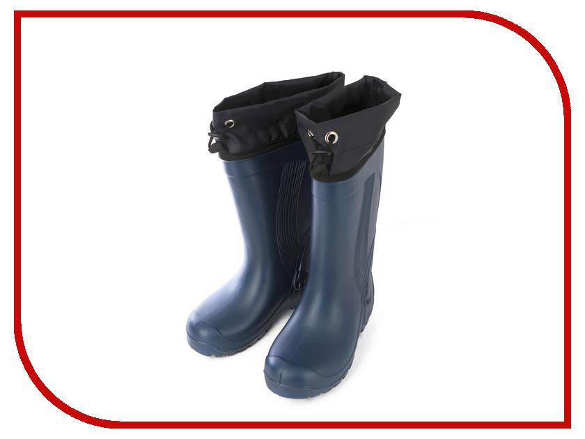 Сапоги Колесник Donna ЭВА женские Blue р.36-37 с манжетой и вставкой дутые утепленные женские сапоги авангард спецодежда р 37 21261