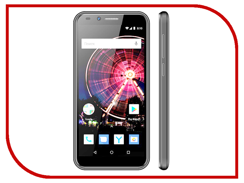 Сотовый телефон Vertex Impress Flash Graphite