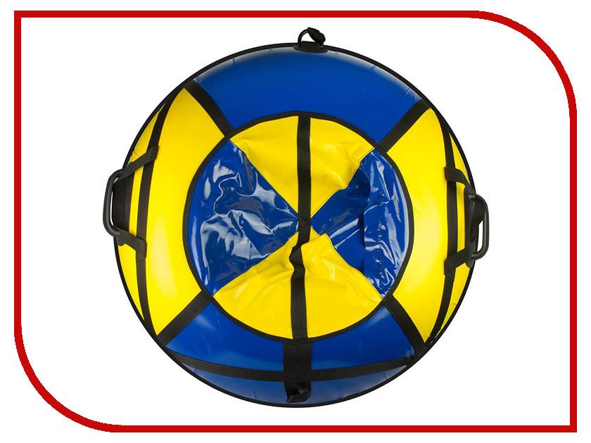 Тюбинг Спортивная Коллекция Sport Pro Flash 92cm Blue-Yellow цена