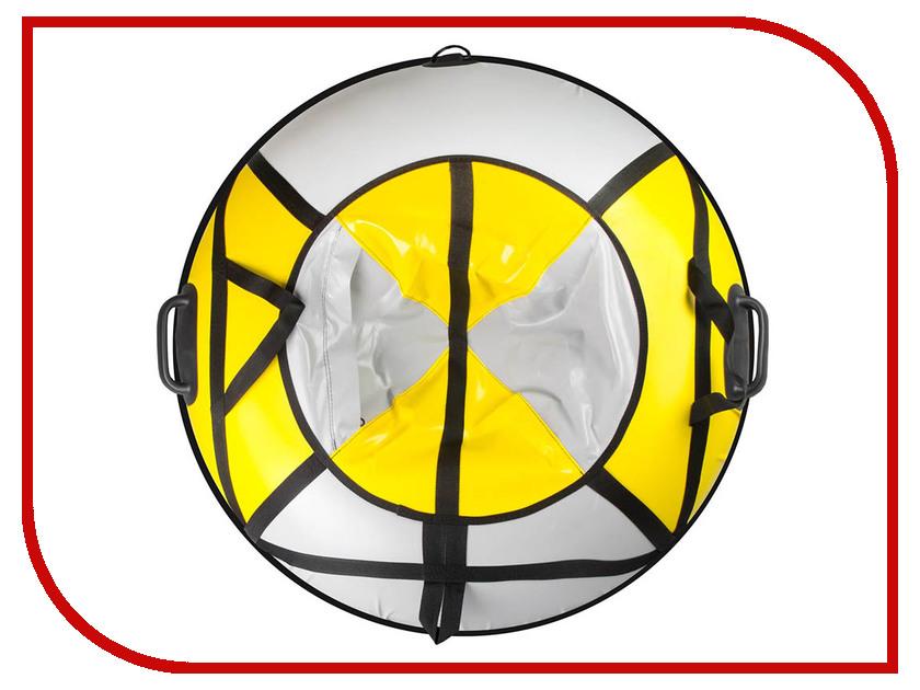 Тюбинг Спортивная Коллекция Sport Pro Flash 124cm Yellow-Grey цена