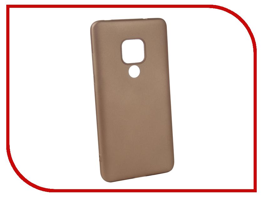 Аксессуар Чехол для Huawei Mate 20 X-Level Guardian Gold 2828-198