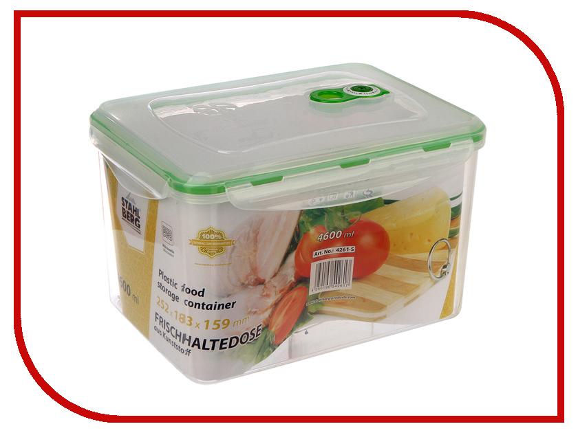 Вакуумный контейнер Stahlberg Green 4261-S green garden кашпо teak s