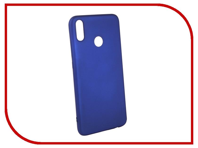 Аксессуар Чехол для Huawei 8X X-Level Guardian Blue 2828-204 аксессуар чехол для huawei honor p smart x level guardian blue 2828 124