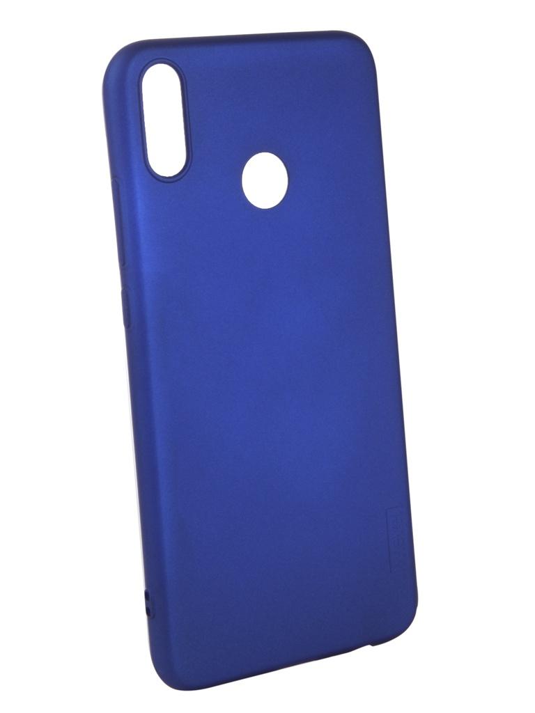 Аксессуар Чехол X-Level для Huawei 8X Guardian Blue 2828-204 аксессуар чехол x level для huawei y9 guardian series gold 2828 137