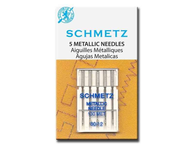 Набор игл Schmetz №80 130 MET VCS 5шт