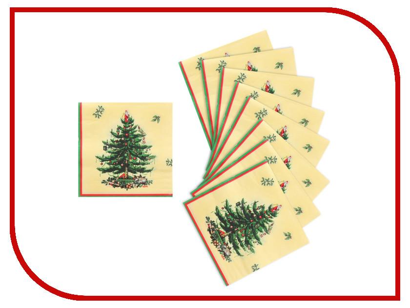 Салфетки Страна Карнавалия Ёлочка с подарками 20шт 1101856 волшебная страна сувенир ёлочка