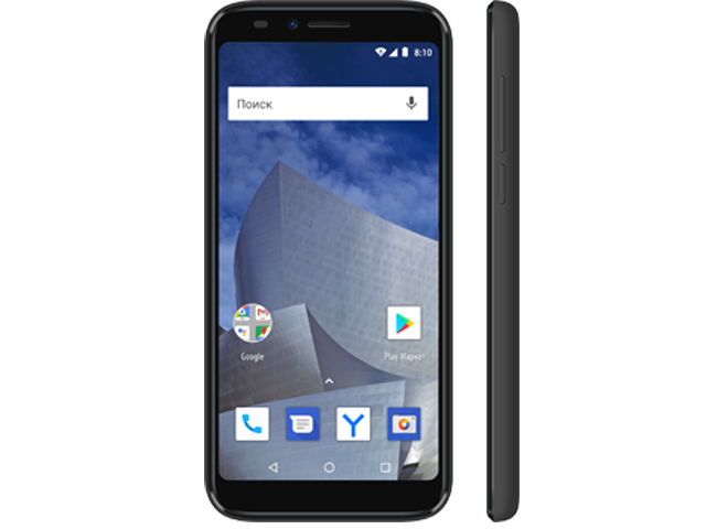 Сотовый телефон Vertex Impress Astra LTE Graphite цена