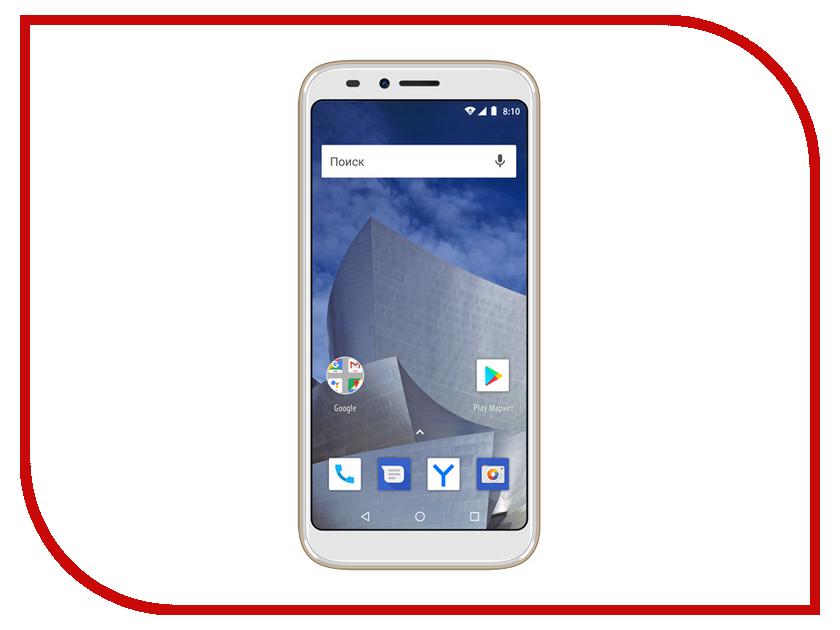 Сотовый телефон Vertex Impress Astra LTE Gold мобильный телефон vertex impress energy графит