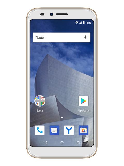 Сотовый телефон Vertex Impress Astra LTE Gold сотовый телефон vertex impress stone lte graphite