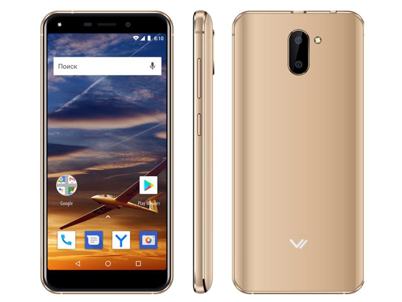 Сотовый телефон VERTEX Impress Vira Gold