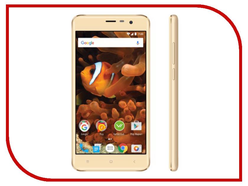 Сотовый телефон VERTEX Impress Reef Gold сотовый телефон vertex impress flash blue