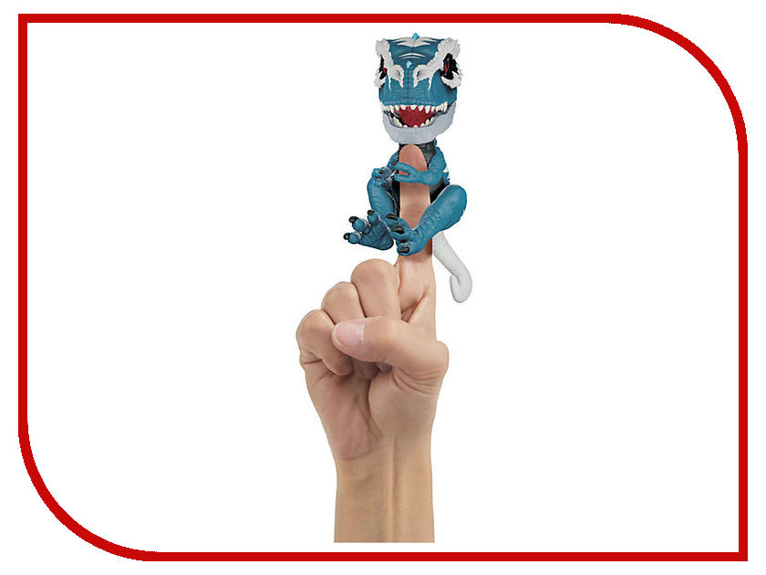 все цены на Игрушка WowWee Fingerlings Динозавр Айронджо Untamed T-Rex Blue-White 3785 онлайн