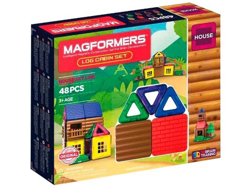 Конструктор Magformers House 705006 Домик из бревен недорого