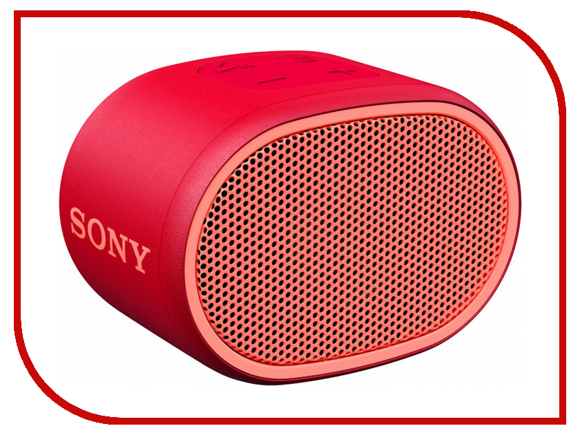 Колонка Sony SRS-XB01 Red [terns]sony bluetooth enabled speakers red srs x3 rc[japan import]