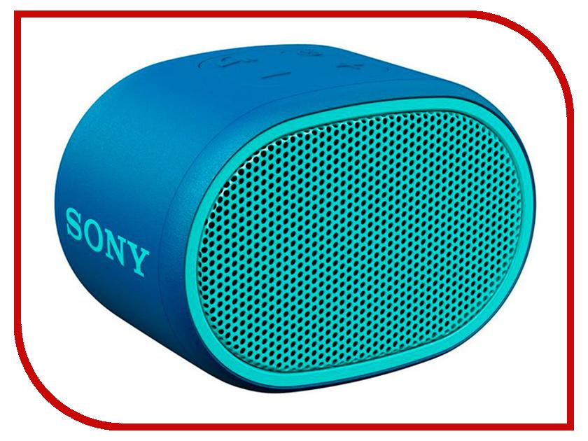 Колонка Sony SRS-XB01 Blue sony srs hg1 pink