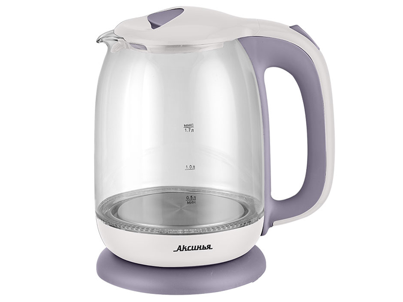 Чайник Аксинья КС-1020 White-Violet