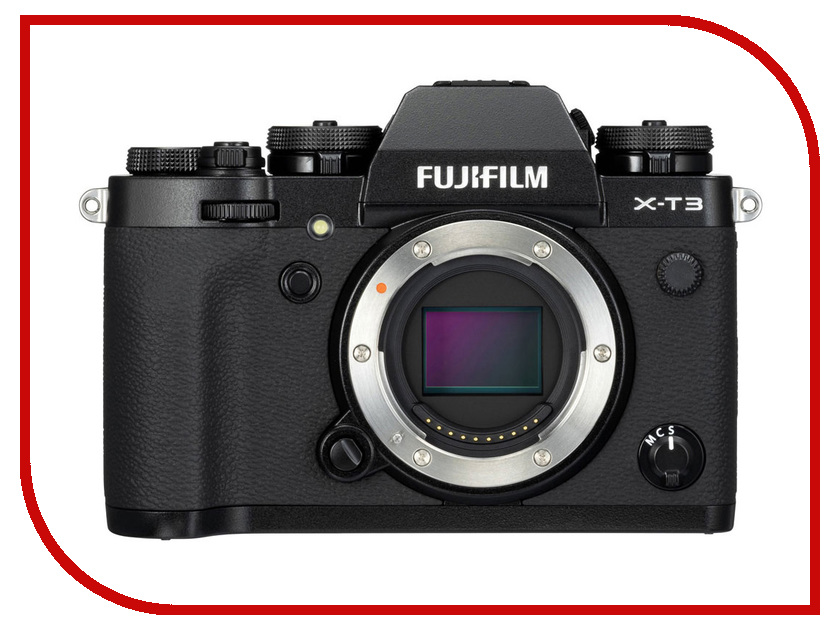 Фото - Фотоаппарат Fujifilm X-T3 Body Black meike new batterry grip mk xt2g for fujifilm x t2