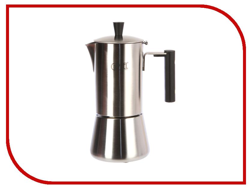 Кофеварка Gipfel Azzimato 300ml на 6 порций Steel-Black 5393 кофеварка gipfel azzimato 500ml на 10 порций steel black 5394