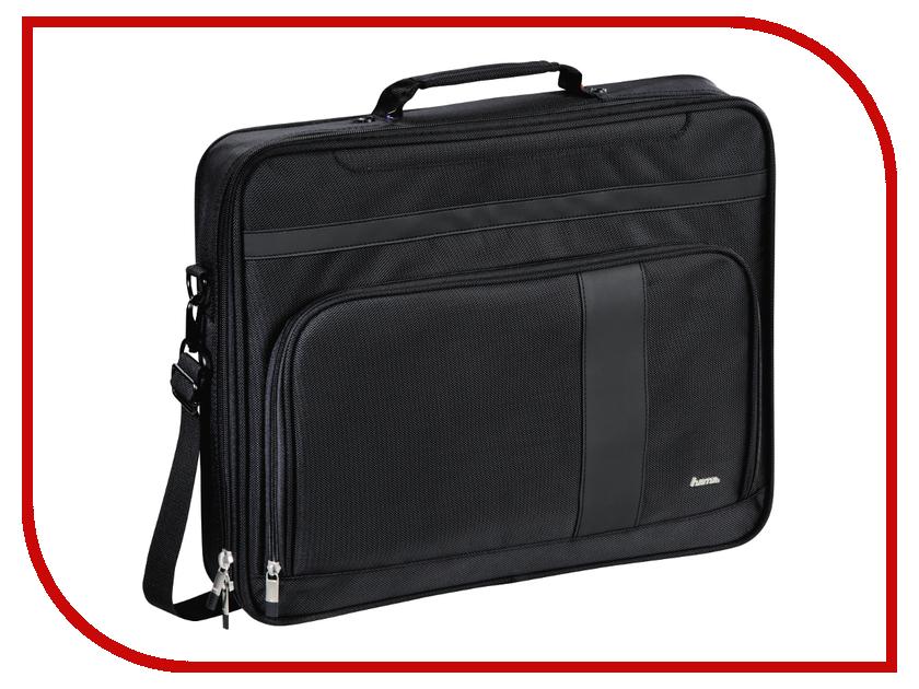 Аксессуар Сумка 17.3-inch Hama Dublin Black 00101765 сумка для фотоаппарата hama canberra 130 black blue