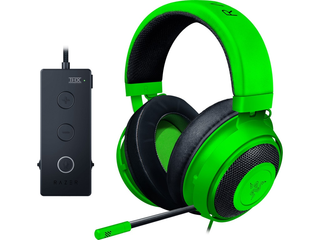Наушники Razer Kraken Tournament Green RZ04-02051100-R3M1