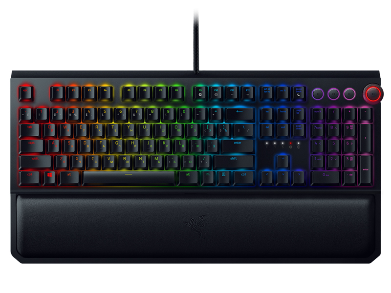 Клавиатура Razer BlackWidow Elite (Green Switch) Black USB