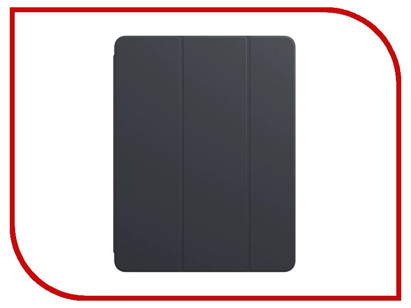 Аксессуар Чехол APPLE iPad Pro 12.9 Smart Folio Charcoal Grey MRXD2ZM/A аксессуар клавиатура apple smart keyboard для ipad pro 12 9 inch mnkt2rs a