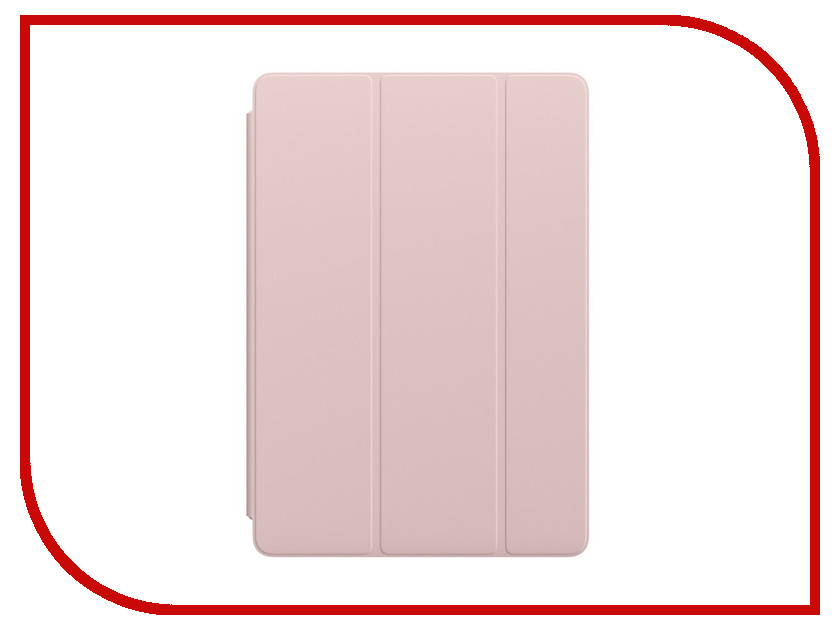 Аксессуар Чехол APPLE iPad Pro 10.5 Smart Cover Pink Sand MU7R2ZM/A аксессуар чехол apple ipad pro 12 9 smart folio white mrxe2zm a