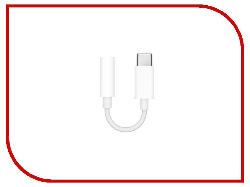 Аксессуар APPLE USB-C 3.5mm MU7E2ZM/A