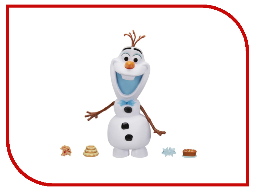 Игрушка Hasbro Холодное сердце. Говорящий Олаф C3143 игрушка hasbro disney princess кукла холодное сердце говорящий олаф