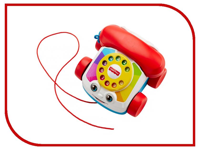 Игрушка Mattel Fisher-Price Говорящий телефон на колесах FGW66 развивающая игрушка fisher price телефон на колесах