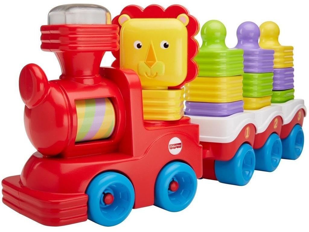 Игрушка Mattel Fisher-Price Поезд в джуглях DRG33