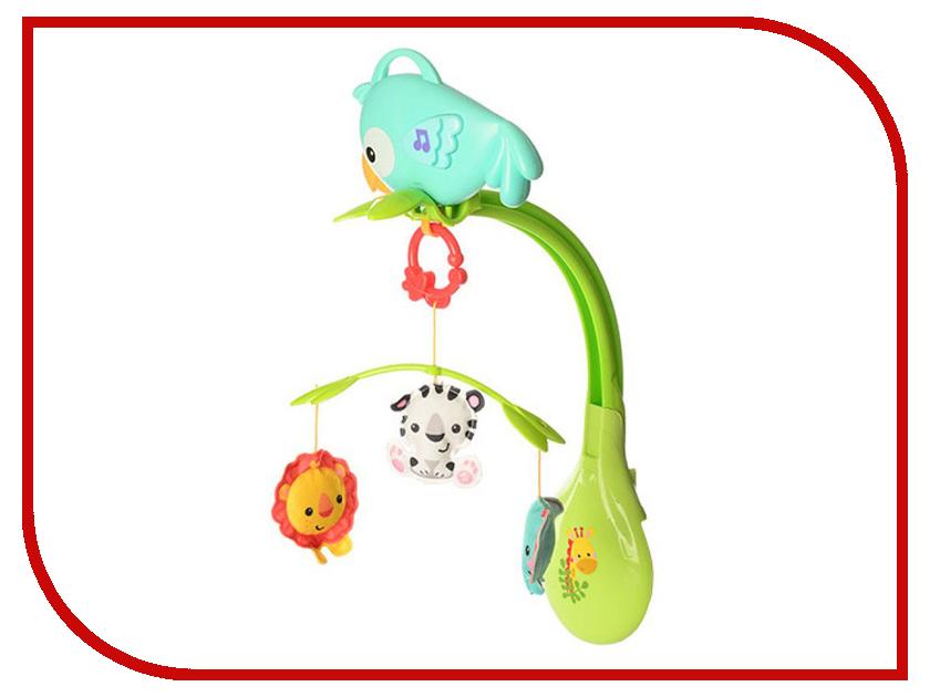 Музыкальный мобиль Fisher-Price Друзья из тропического леса (CHR11) mattel дуга с зеркальцем друзья из тропического леса fisher price