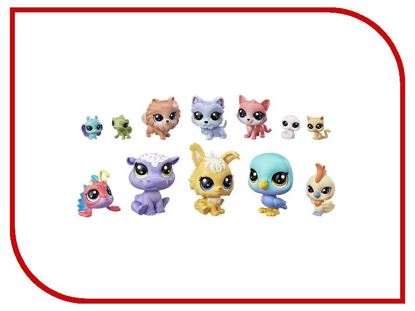 Игрушка Hasbro Littlest Pet Shop 12 счастливх петов E3034EU4 hasbro hasbro коллекционная фигурка littlest pet shop 11 шт
