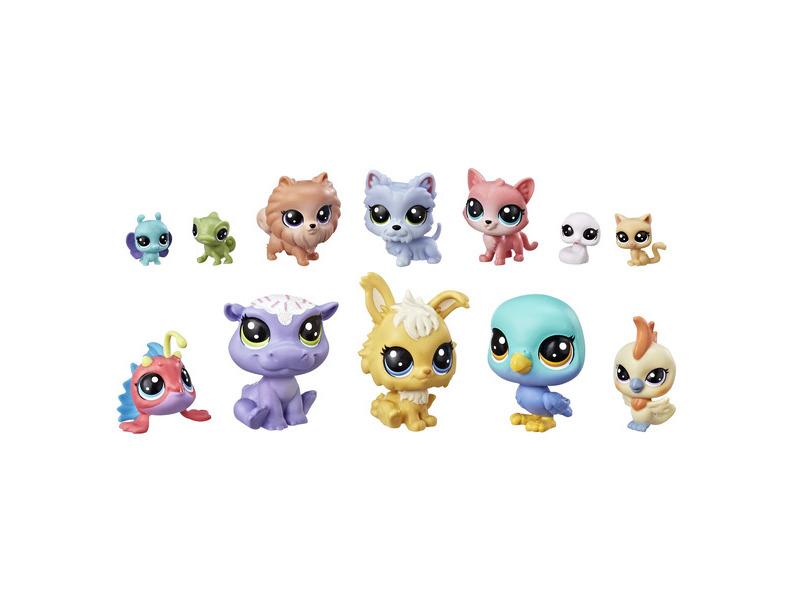 Игрушка Hasbro Littlest Pet Shop 12 счастливх петов E3034EU4