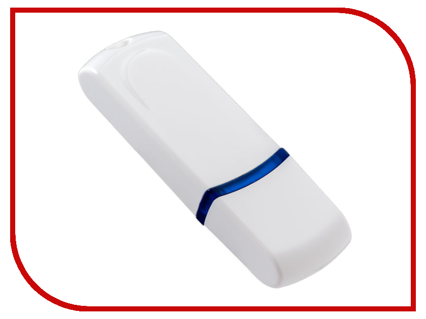 USB Flash Drive 8Gb - Perfeo C09 White PF-C09W008 usb flash drive 32gb perfeo s02 white pf s02w032