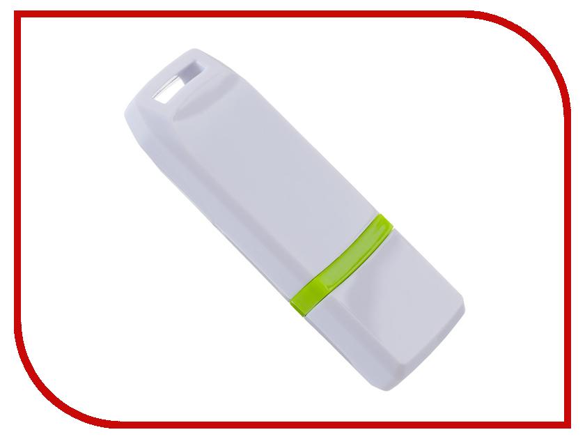 USB Flash Drive 4Gb - Perfeo C11 White PF-C11W004 usb flash drive 4gb exployd 570 white ex 4gb 570 white