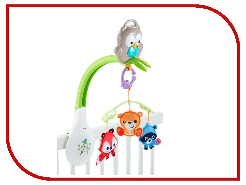 Купить Музыкальный мобиль Fisher-Price Лесные друзья (CDM84), Mattel