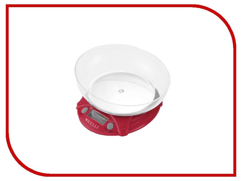 Весы Kelli KL-1531 Red весы kelli kl 1527