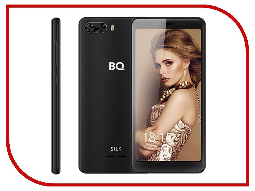 Сотовый телефон BQ BQ-5520L Silk Black сотовый телефон bq bq 5520l silk brown