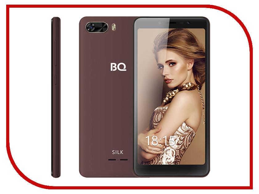 Сотовый телефон BQ BQ-5520L Silk Brown сотовый телефон bq bq 5520l silk brown