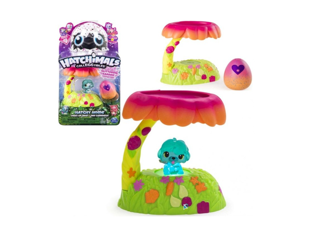 Игрушка Игрушка Hatchimals Домик-гнездо сад 19131-G
