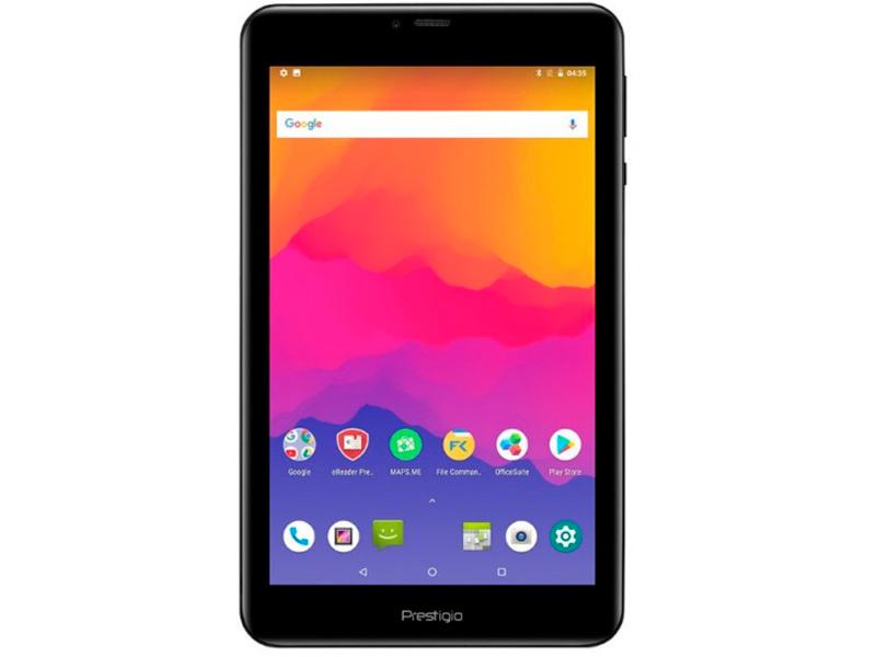 Планшет Prestigio Grace PMT5718D 4G Black PMT5718_4G (Quad Core 1.0 GHz/2048Mb/16Gb/4G/Wi-Fi/Bluetooth/Cam/8.0/1920x1200/Android)