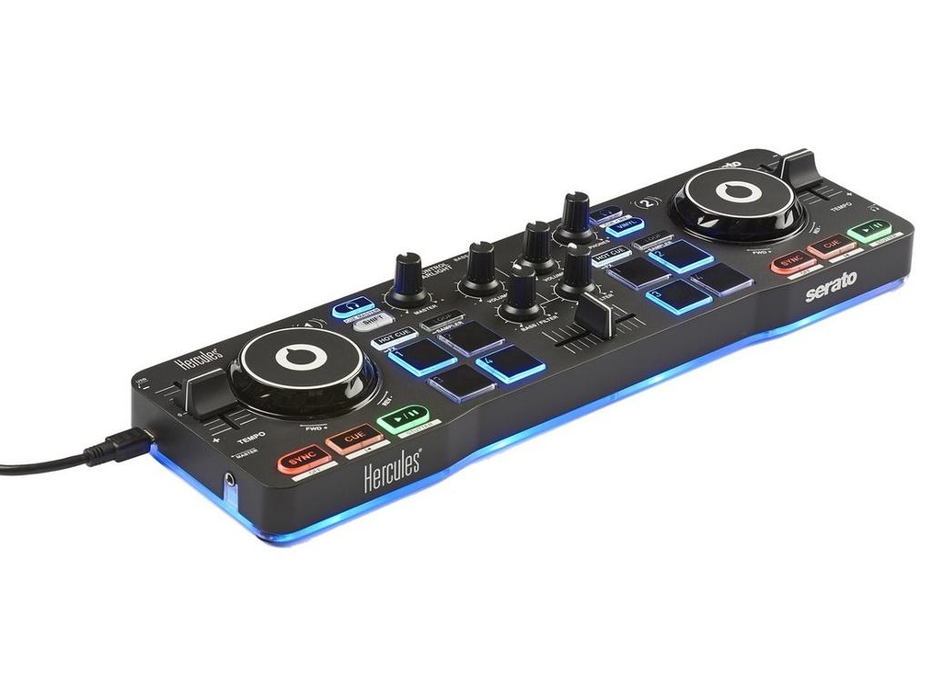 Фото - Dj контроллер Hercules DJ Control Starlight 4780884 hercules расческа силиконовая рабочая женская 17 8 см