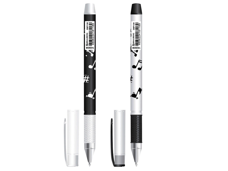 Ручка Brauberg Black&White Melody OBP130 недорого