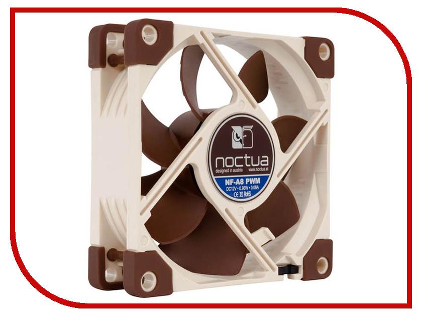 Вентилятор Noctua NF-A8 5V PWM 80x80x25mm 2200rpm вентилятор noctua nf a8 pwm 80mm 450 2200rpm