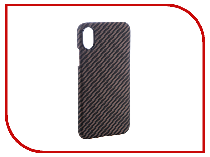 Аксессуар Чехол для APPLE iPhone X Pitaka Aramid Case Black-Gold Twill KI8005X gissar twill чехол для apple iphone 5c black