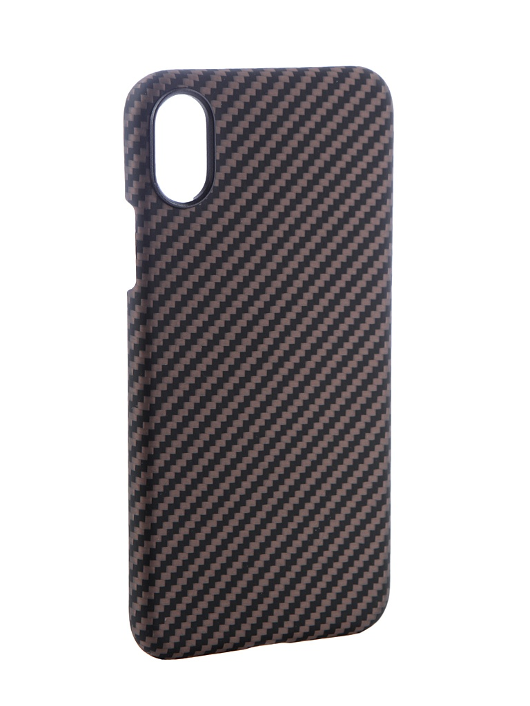 Аксессуар Чехол Pitaka для APPLE iPhone X Aramid Case Black-Gold Twill KI8005X аксессуар чехол для apple iphone x pitaka aramid case black yellow twill ki8006x