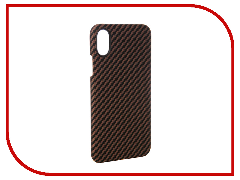 Аксессуар Чехол для APPLE iPhone X Pitaka Aramid Case Black-Yellow Twill KI8006X gissar twill чехол для apple iphone 5c black