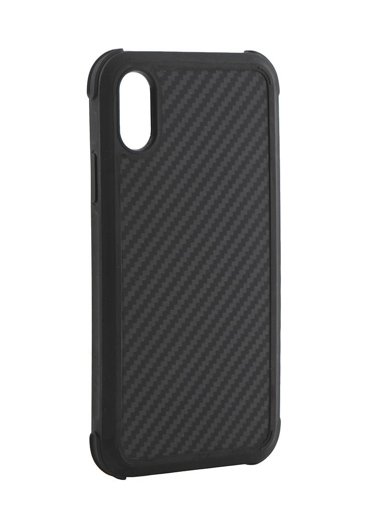 Фото - Аксессуар Чехол Pitaka для APPLE iPhone XS MagCase Pro Black-Grey KI8001XSP чехол pitaka magcase pro противоударный для iphone xs max черно серый