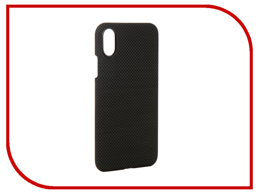 Аксессуар Чехол для APPLE iPhone X Pitaka Aramid Case Black-Grey Plain KI8002X gumai silky case for iphone 6 6s black